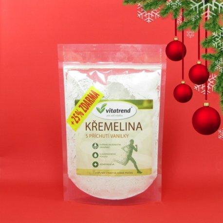 Křemelina Vitatrend 250g s příchutí vanilky + 25 % zdarma