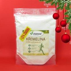 Křemelina Vitatrend 500g s příchutí vanilky + 25 % zdarma