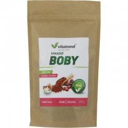 Kakaové boby Vitatrend drcené, slazené jakonem
