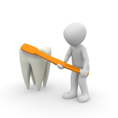 Bělení zubů s křemelinou