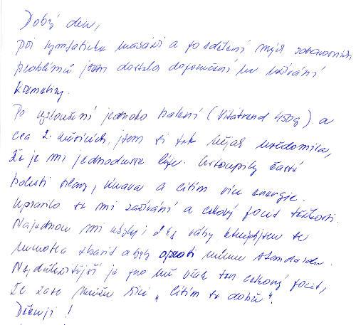 Helena S. - skúsenosť s užívaním kremeliny Vitatrend
