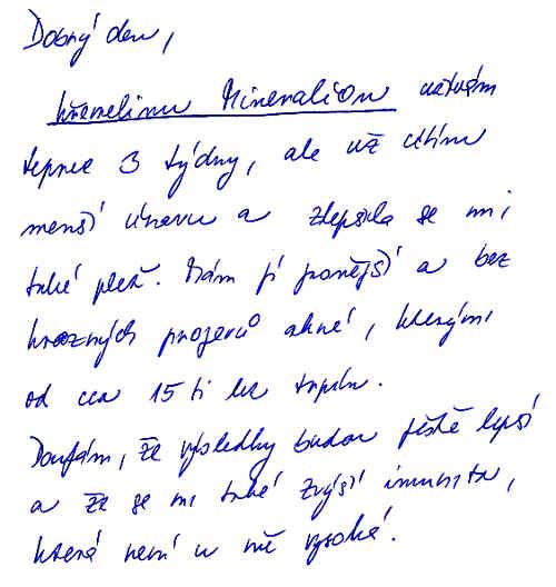Vitatrend - skúsenosť s kremelinou od pani Kristýny S.