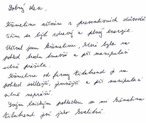 Skúsenosť od pána Miroslava S. s kremelinou Vitatrend