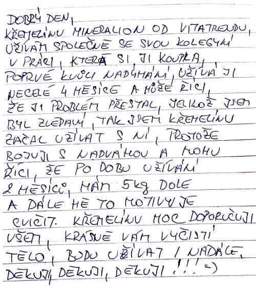 Kremelina Vitatrend - skúsenosť od pána Romana K.