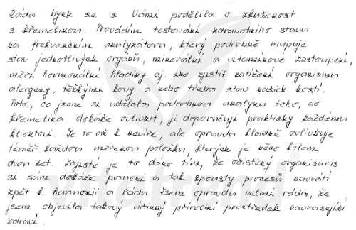 Zkušnost s křemelinou Vitatrend - Magda P.