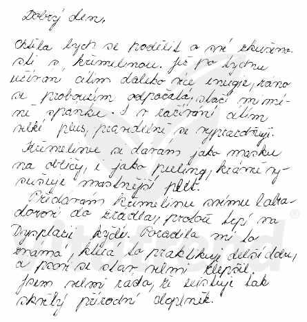 Zkušenost - křemelina Vitatrend - Simona V.