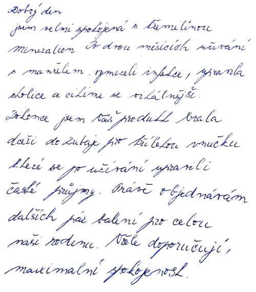 Zkušenost s křemelinou - Emílie O.