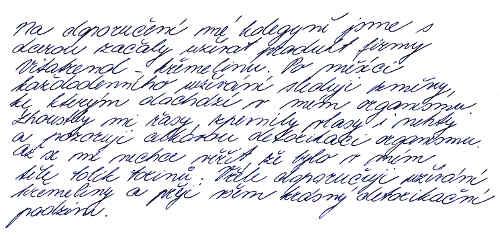 Vitatrend - zkušenost s křemelinou od Jany R.