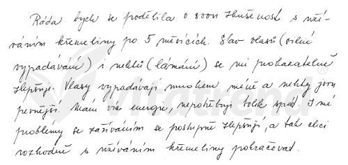 Zkušenost s křemelinou Vitatrend - Milena B.