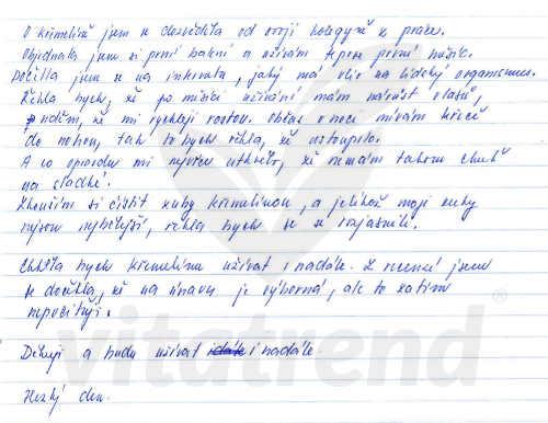 Křemelina Vitatrend - zkušenost Moniky N.