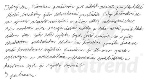 Křemelina od Vitatatrend - zkušenost Tomáše S.